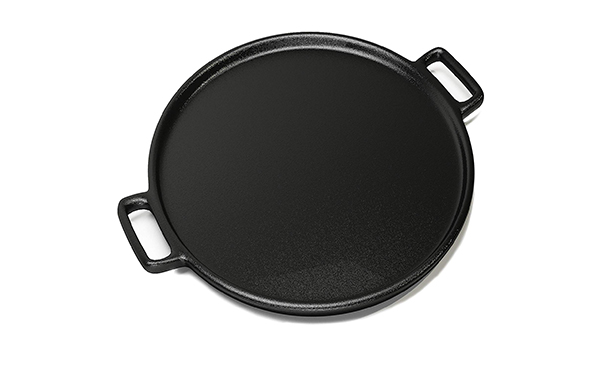 Home-Complete 14 Cast Iron Pizza Pan Skillet