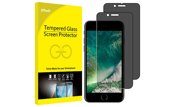 JETech Screen Protector Tempered Glass Film, 2-Pack
