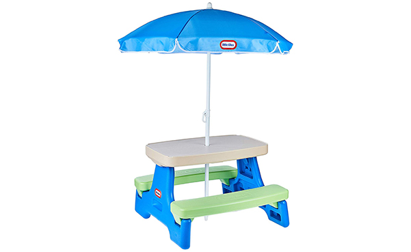 Little Tikes Easy Store Jr. Picnic Table