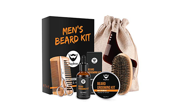 MayBeau 8-in-1 Beard Grooming & Trimming Kit