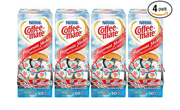Nestle Peppermint Mocha Coffee Creamer, Pack of 200