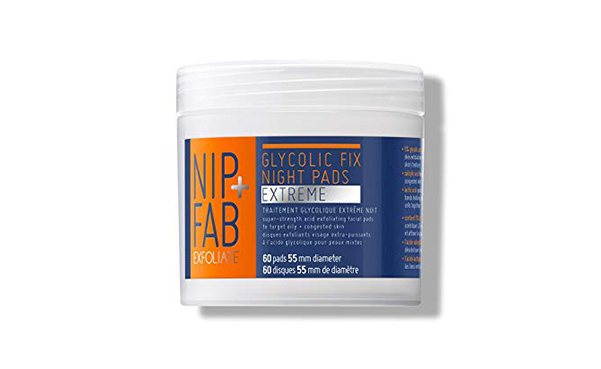 Nip + Fab Glycolic Fix Night Pads Extreme, 60 Pads