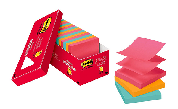 Post-it Pop-Up Notes, 18-Pads Cabinet Pack