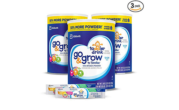 Similac Go & Grow Milk Based Toddler Drink, Pack Of 3