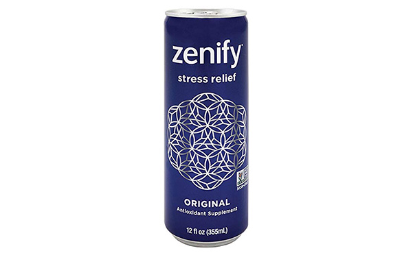 Zenify All Natural Sparkling Calming Beverage, Pack of 12
