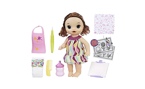 Baby Alive Finger Paint Baby Doll