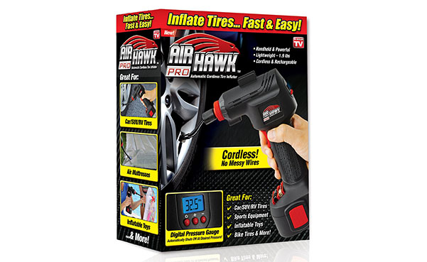ONTEL Air Hawk Pro Portable Tire Inflator