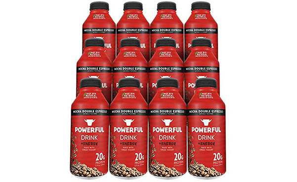 Powerful Mocha Double Espresso Drink, 12 Count