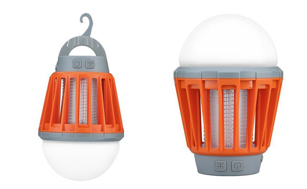 Rechargeable 2-in-1 Mosquito Zapper and LED Light Bulb