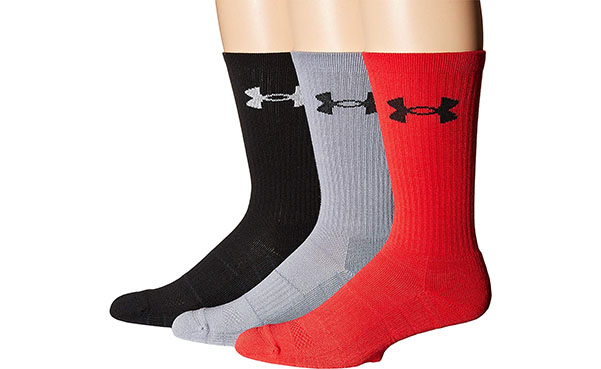 Under Armour Men's Elevated Performance Socks, 3 Pack
