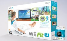 Wii Fit U with Balance Board and 2 Fit Meters