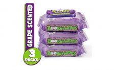Boogie Wipes, Wet Nose Wipes for Kids and Baby, 3 Packs