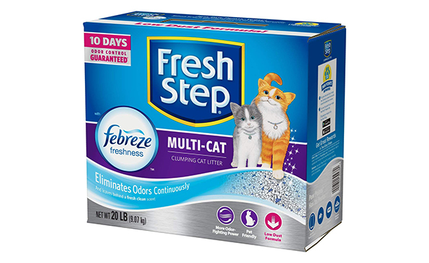 Fresh Step Multi-Cat Scented Litter