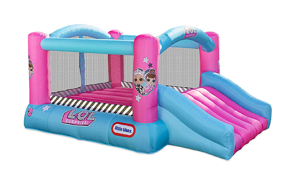 L.O.L. Surprise Jump 'n Slide Inflatable Bounce House
