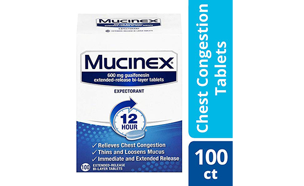 Mucinex Extended Release Tablets for Chest Congestion