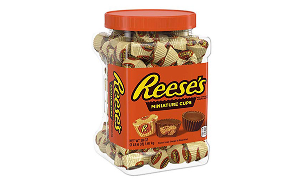 Reese's Miniatures Peanut Butter Cups , 38 Ounce