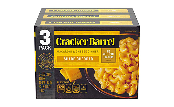 Cracker Barrel Macaroni and Cheese, 3 Count