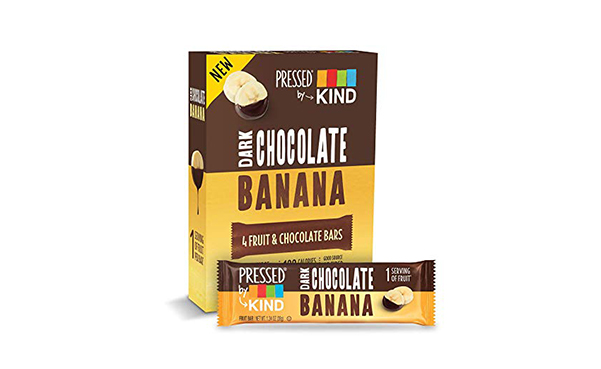 Pressed by KIND Chocolate Banana Bars, 6 Pack