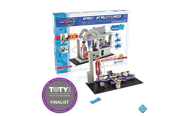 Snap Circuits BRIC Brick and Electronics Exploration Kit