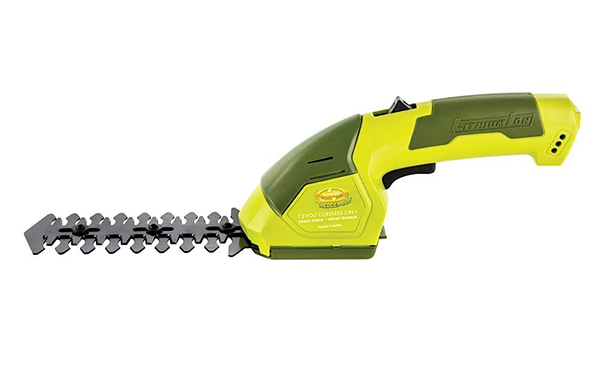 Sun Joe 2-in-1 Cordless Grass Shear + Hedger