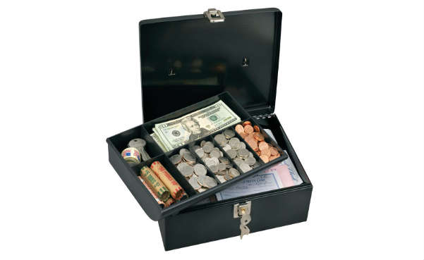 master lock cash box