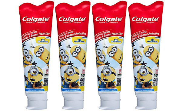 Colgate Kids Toothpaste with Anticavity Fluoride, 4 Pack