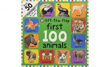 First 100 Animals Lift-the-Flap Board Book