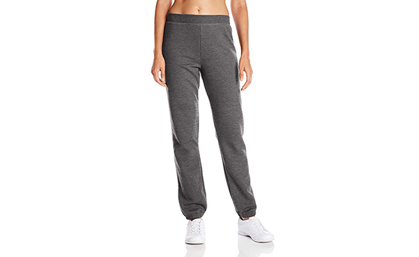 Hanes Women's Midrise Fleece Sweatpants