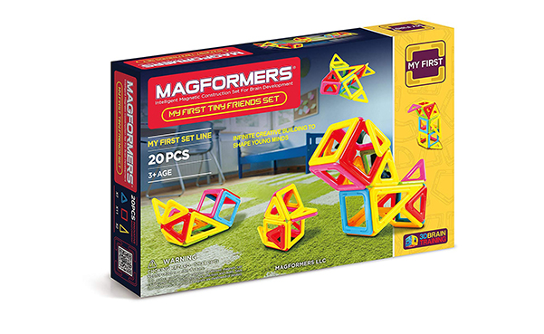 Magformers Tiny Friends Magnetic Tiles Building Toy