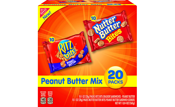 Nabisco Peanut Butter Mix, 20 Count