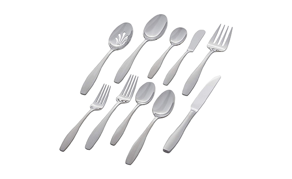 Stone & Beam 45-Pc Stainless Steel Silverware Set