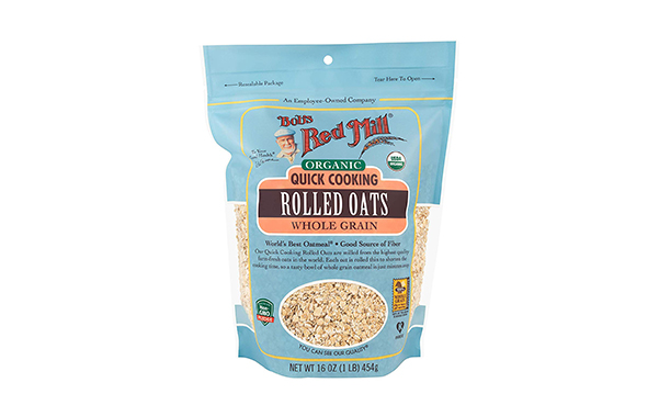 Bob's Red Mill Organic Quick Cooking Rolled Oats, 4 Pack
