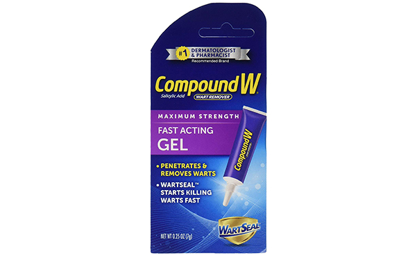 Compound W Salicylic Acid Wart Remover Gel, 2 Pack