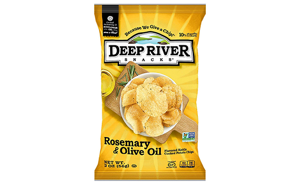 Deep River Snacks Kettle Chips, Pack of 24