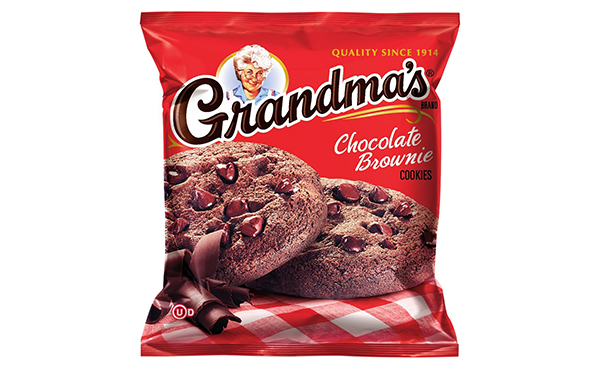 Grandma's Chocolate Brownie Cookies, Pack of 60