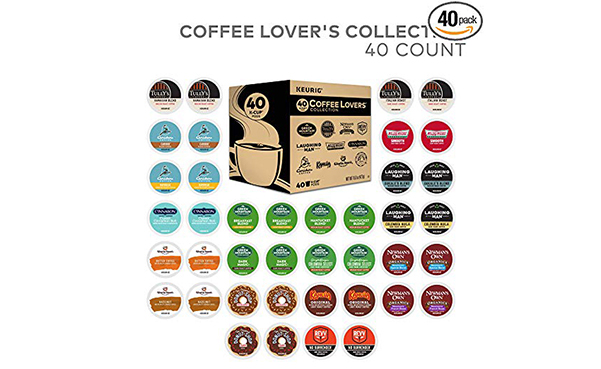 Green Mountain Coffee Keurig 40 Pack Sampler