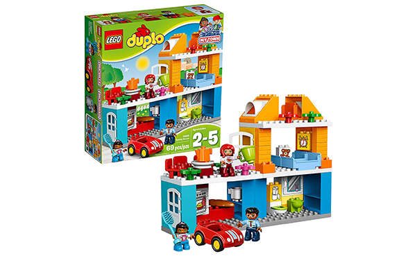 LEGO Duplo My Town Family House Building Block Toys