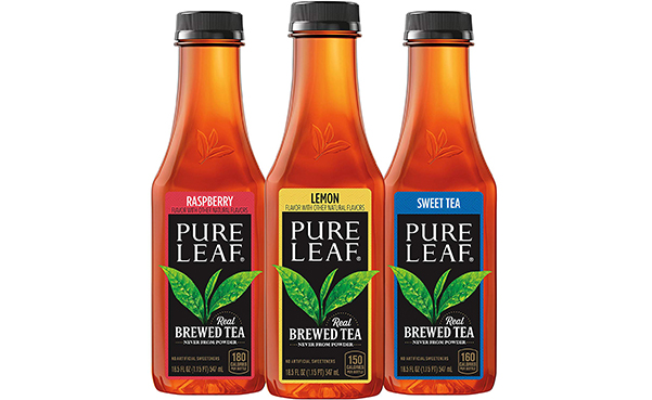 Pure Leaf Iced Tea, Real Brewed Black Tea, Pack of 12