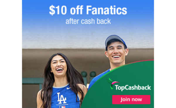 fanatics $10 off