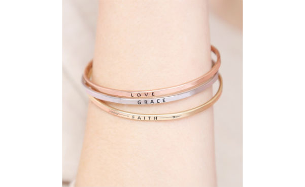 love grace faith bracelet