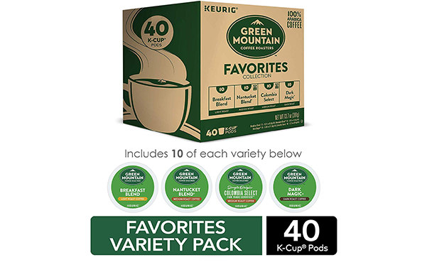 Green Mountain K-Cup Coffee, 40 Count