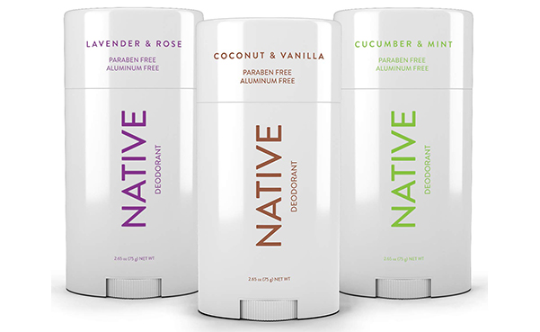 Native Natural Deodorant, 3 Pack