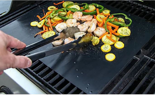 BBQ Grill or Oven Mat, 2-Count