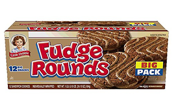 Little Debbie Fudge Rounds Big Pack