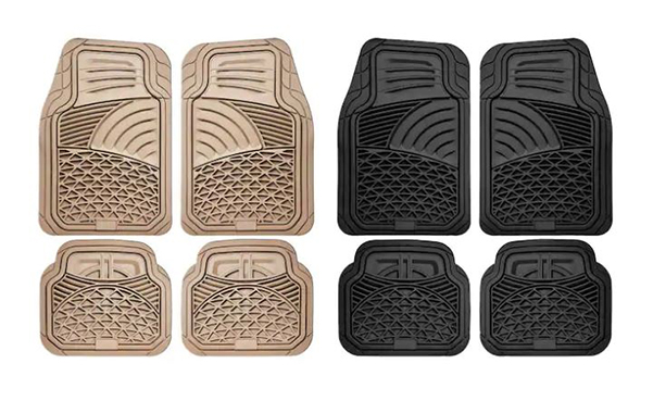 Rubber Car Floor Mat Set