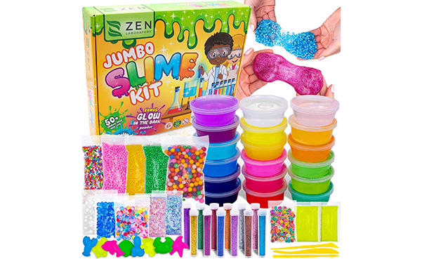 Zen Laboratory DIY Slime Kit for Kids
