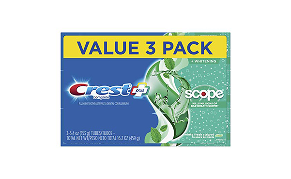 Crest Complete Whitening + Scope Toothpaste