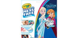 Crayola Color Wonder Frozen Coloring Book & Markers