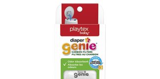 Diaper Genie Playtex Carbon Filter Refill Tray for Diaper Pails, 4-Count