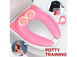 Gimars Reusable Toilet Potty Training Seat